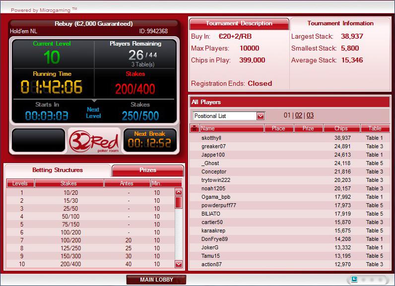 32red Poker
