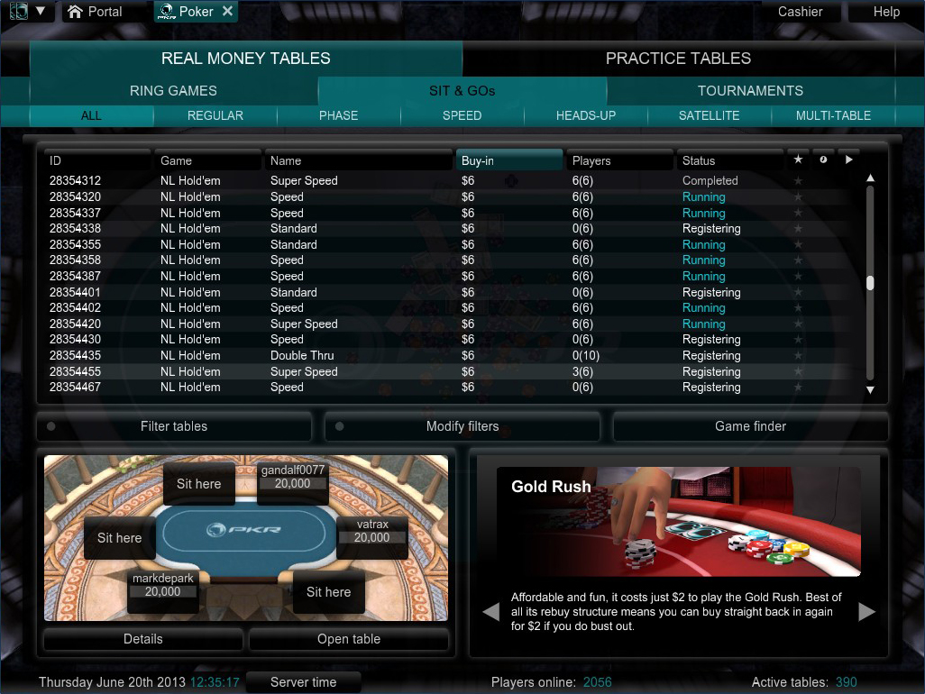 Online poker sites with best freerolls