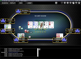 SWC Poker Poker Table