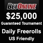 BetOnline $25k Tourney