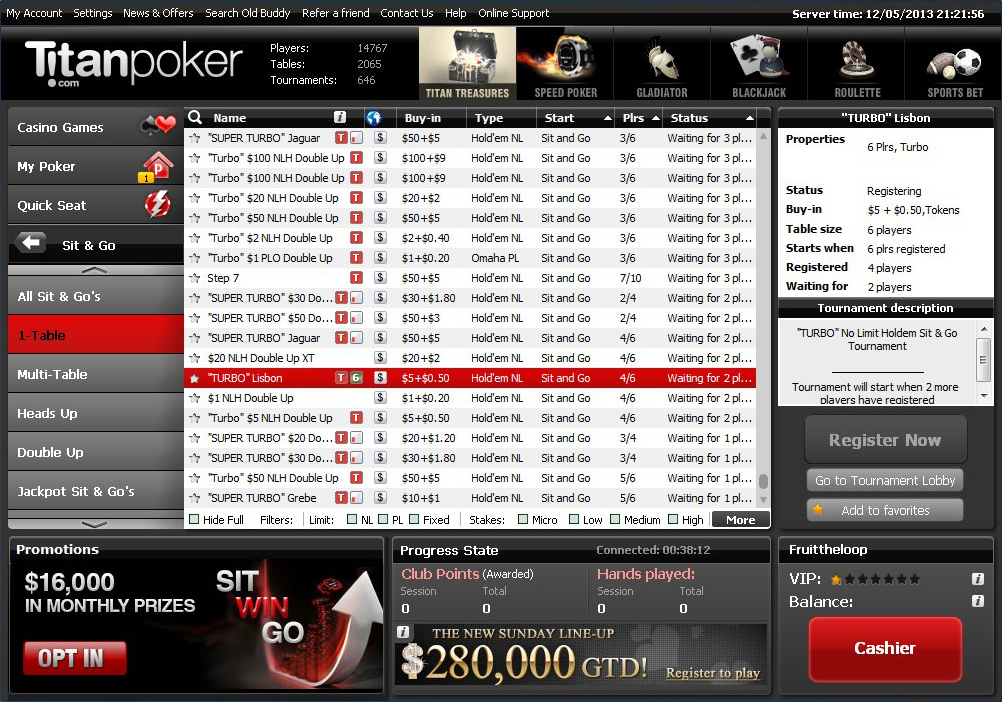 Titan poker sports betting lines online gambling sports betting